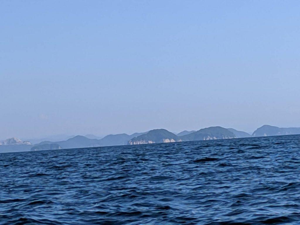 播磨灘 家島諸島